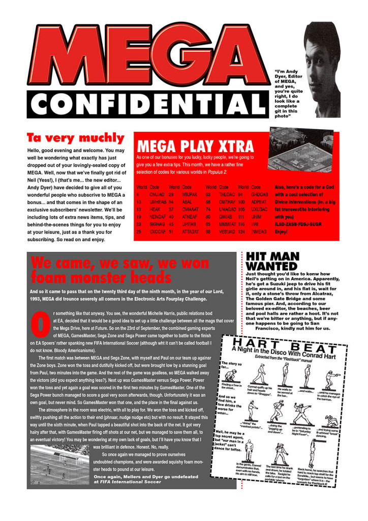 MEGA Confidential (issue 14, page 1)