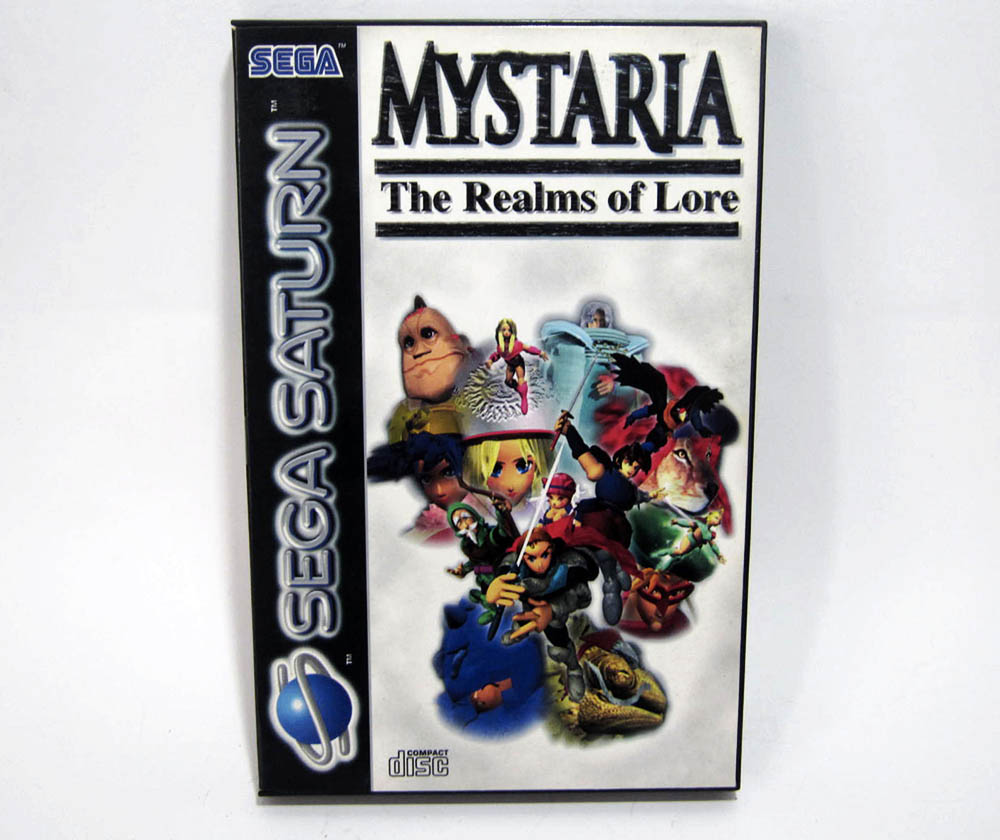 Mystaria was a relatively early European Saturn release.