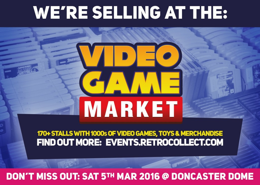 The RetroCollect Video Game Market 3