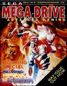 A beat-'em-up special. Note that the Fatal Fury 2 cover-art has been mirrored.