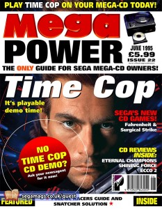 Of all of the Sega magazines that were published in the UK, Mega Power was the only one that specifically focussed on Mega-CD content.