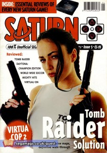 The Tomb Raider guide was pinched from Paragon's Play+ magazine.